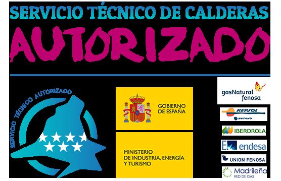 Servicio tecnico de calderas autorizado por la Comunidad de Madrid y el Ministerio de Industria