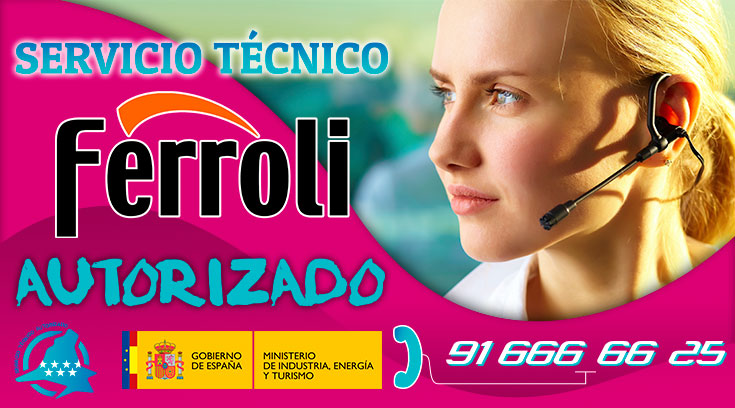 Servicio tecnico Ferroli Boadilla del Monte